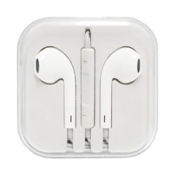 HF EARPHONES IPHONE + PILOT WHITE