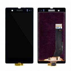 LCD + Érintőpanel teljes SONY XPERIA Z L36H Fekete