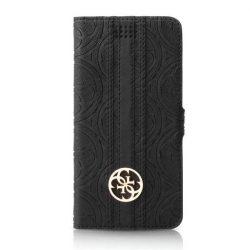 "Guess GUBKXLHEBK Universal XL 5,2-5,7"" fekete könyv 4G Heritage telefontok"