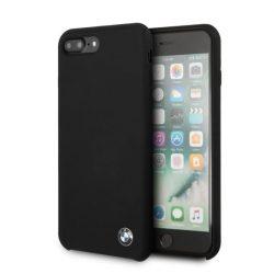 Etui hardcas BMW BMHCI8LSILBK iPhone 7/8 Plus fekete telefon tok telefontok