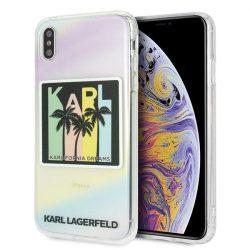 Karl Lagerfeld KLHCI65IRKD iPhone Xs Max Hardcase Kalifornia álmok tok telefon tok hátlap