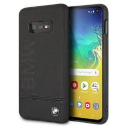 Etui Hardcase BMW BMHCS10LLLSB S10e G970 fekete Samsung Galaxy tok telefon tok hátlap