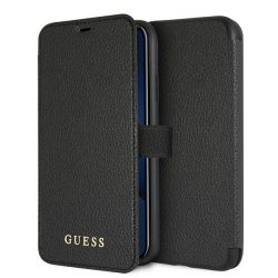 Guess GUFLBKI61IGLBK iPhone Xr fekete /  tok Színjátszó tok telefon tok hátlap