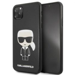 Etui Karl Lagerfeld KLHCN65IKPUBK iPhone 11 Pro Max tok fekete Ikonikus Karl Dombornyomott telefontok