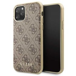 Guess GUHCN58G4GB iPhone 11 Pro barna / barna Hardcase 4G Collection telefon tok telefontok
