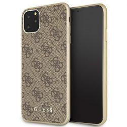 Guess GUHCN65G4GB iPhone Pro Max 11 barna / barna Hardcase 4G Collection telefon tok telefontok (hátlap)
