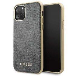 Guess GUHCN58G4GG iPhone 11 Pro szürke / szürke kemény tok 4G Collection tok telefon tok hátlap