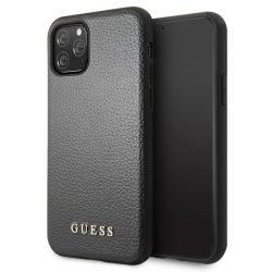 Guess GUHCN58IGLBK iPhone 11 Pro fekete Hardcase Színjátszó telefon tok telefontok (hátlap)