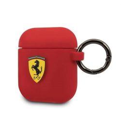 Ferrari FESACCSILSHRE AirPods védő czerwony / piros szilikon telefontok