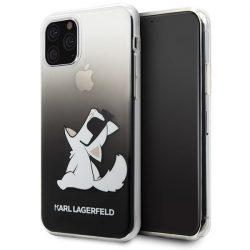 Karl Lagerfeld iPhone KLHCN65CFNRCBK 11 Pro Max Hardcase fekete Choupette Fun telefon tok telefontok (hátlap)