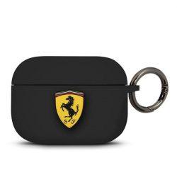 Ferrari FEACAPSILGLBK AirPods Pro telefontok fekete Szilikon
