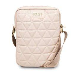 """Guess Torba GUTB10QLPK 10"""" różowa / rózsaszín steppelt Tablet táska"""