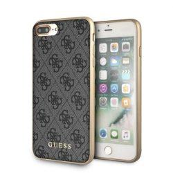 Guess GUHCI8LG4GG iPhone 7/8 Plus szürke kemény tok 4G Collection telefontok