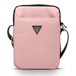 """Guess Torba GUTB10NTMLLP 10"""" różowy / pink Nylon háromszög logós"""
