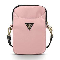 Guess Torebka GUPBNTMLLP różowy / pink Nylon háromszög logós