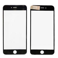 Üvegfólia védőüveg iPhone 6 Plus 6S PLUS Fekete