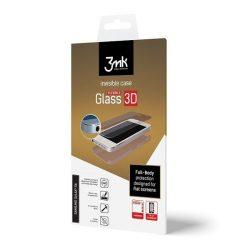 3MK fólia ívelt  3D Teljes képernyős Sony Xperia U XA1 ltra elöl/hátul/oldalt is véd kijelzőfólia üvegfólia tempered glass