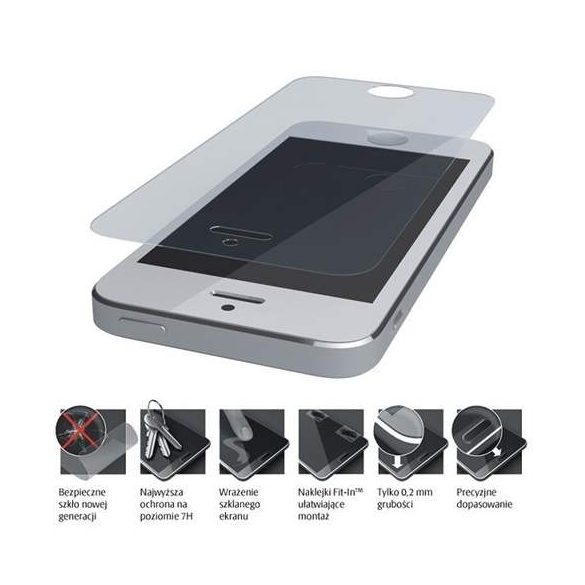 3MK FlexibleGlass Huawei P Smart Plus hibrid üveg kijelzőfólia üvegfólia tempered glass