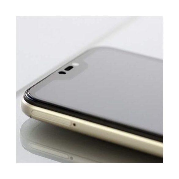 3MK HG Max Lite Samsung G8870 A8s fekete kijelzőfólia üvegfólia tempered glass