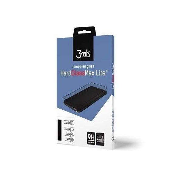 3MK HG Max Lite Samsung G930 S7 fekete kijelzőfólia üvegfólia tempered glass