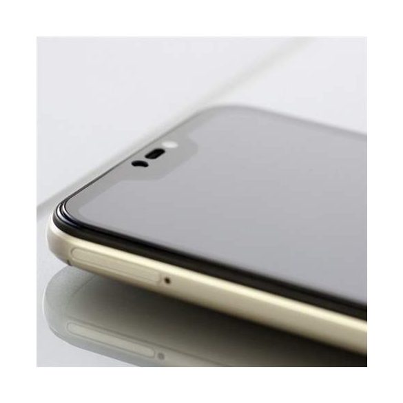 3MK HG Max Lite Huawei P30 fekete kijelzőfólia üvegfólia tempered glass
