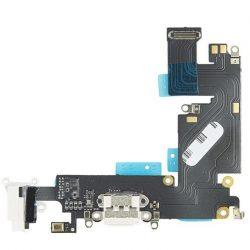FLEX iPhone 6 Plus töltő CSATLAKOZÓ FEHÉR