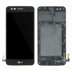 LCD + Érintőpanel teljes LG M160 K4 2017 Fekete kerettel