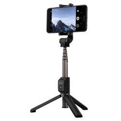 Huawei Honor 2w1 AF15 szelfi Stick + Állvány Teleszkópos állvány Bluetooth fekete