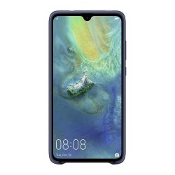 Huawei szilikon tok telefon tok hátlap puha, hajlékony gumi védőborítás Huawei Mate 20 világoskék (51992617)