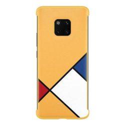 Huawei Védőburkolat átlátszó telefontok Huawei Mate 20 Pro sárga (51.992.767) telefontok tok