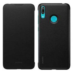 Huawei Wallet Cover Flipes tok telefon tok kártya foglalattal Huawei Y7 2019 fekete (51992902)