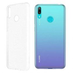 Huawei rugalmas átlátszó telefon tok telefontok puha, hajlékony Gel TPU telefon tok Huawei Y7 2019 átlátszó (51992909)