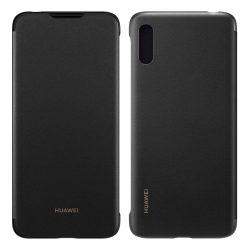 Huawei Flip Cover Flipes tok telefon tok Type telefon tok telefontok Huawei Y6 2019 fekete (51992945)