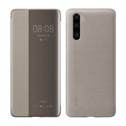 Huawei Ymart View Flipes tok telefon tok típusú telefon tok telefontok (hátlap) Smart Window Huawei P30 barna (51992864)