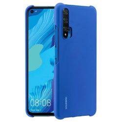 Huawei védőtok PC átlátszó telefontok Huawei Nova 5T / Honor 20 / Honor 20 Pro / Honor 20S kék telefontok hátlap tok