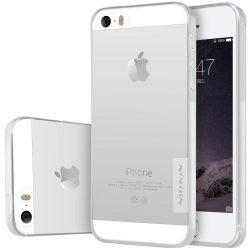 Nillkin Nature Ultravékony tok telefon tok hátlap iPhone 5S SE 5 átlátszó
