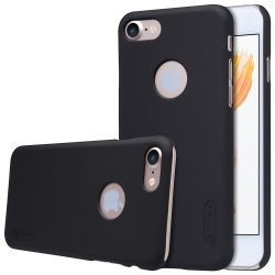 Nillkin Super Frosted Shield tok iPhone 7 fekete tok telefon tok hátlap