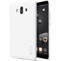 Nillkin Super Frosted Shield tok telefon tok hátlap képernyővédő fólia Huawei Mate 10 fehér