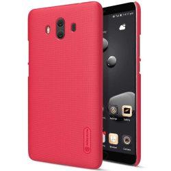Nillkin Super Frosted Shield tok telefon tok hátlap képernyővédő fólia Huawei Mate 10 piros
