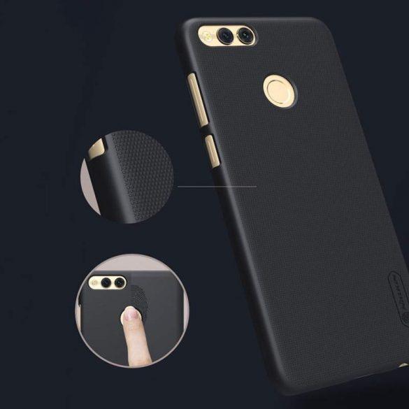 Nillkin Super Frosted Shield telefon tok telefontok képernyővédő fólia Huawei Honor 7X fehér