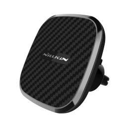 Nillkin Autó Mágneses vezeték Qi töltő II - B - 2in1 vezeték nélküli Qi töltő + Mágneses Phone Holder (gyorstöltő Edition), fekete