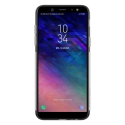 Nillkin Nature TPU telefon tok telefontok Gel Ultravékony Cover Samsung Galaxy A6 2018 A600 szürke