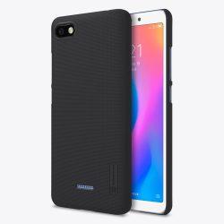 Nillkin Super Frosted Shield tok Állvány Xiaomi redmi 6A fekete tok telefon tok hátlap