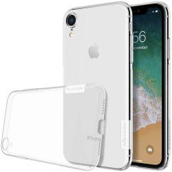 Nillkin Nature TPU tok telefon tok hátlap Gel Ultravékony Cover iPhone XR átlátszó