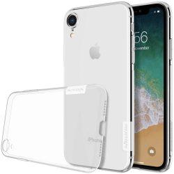 Nillkin Nature TPU telefon tok telefontok Gel Ultravékony Cover iPhone XR átlátszó