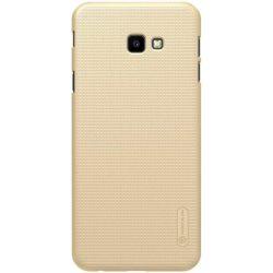 Nillkin Super Frosted Shield tok telefon tok hátlap + kitámasztó Samsung Galaxy J4 Plus 2018 J415 arany