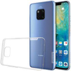 Nillkin Nature TPU telefon tok telefontok Gel Ultravékony Cover Huawei Mate 20 Pro átlátszó