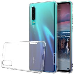 Nillkin Nature TPU tok Gel Ultra Slim Cover Huawei P30 átlátszó telefon tok telefontok (hátlap)