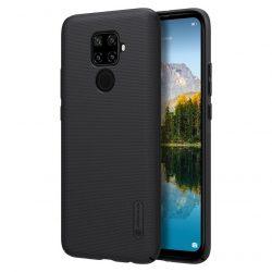Nillkin Super Frosted Shield tok + kitámasztó Huawei Mate Lite 30 / 5i Huawei Nova Pro fekete tok telefon tok hátlap