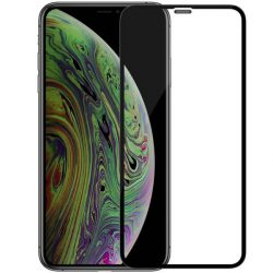 Nillkin XD CP + MAX Ultra vékony teljes képernyős edzett üveg tempered glass tempered glass tempered glass keret 0,33 mm 9H iPhone 11 Pro Max fekete